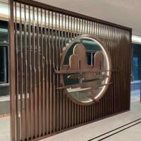 广州不锈钢屏风订制,挂屏系列/外观精美可上门安装