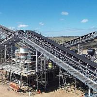 时产300吨大理岩沙石整形机,甘肃庆阳玻璃原料加工生产设备