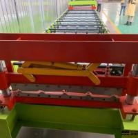 南阳_江西红旗压瓦机_茂源水波纹双层压瓦机_好的彩钢瓦机器可用50+年
