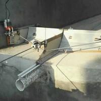 河南猪用刮粪机生产~沧州万晟畜牧公司来图加工不锈钢刮粪机