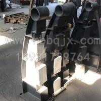 宁夏铸钢护栏支架制造厂家_泊泉公司_订做铸钢防撞立柱