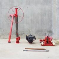 直销轻便式背包钻机 小型民用饮水井钻机 地质勘探50米钻孔机
