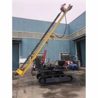 工程用太阳能光伏履带打桩机 光伏路面打桩机限时优惠