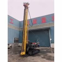 5米光伏桩打桩机  光伏发电工程打桩机厂家专销