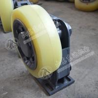 L25滚轮罐耳 罐笼导向轮 立井罐笼缓冲装置